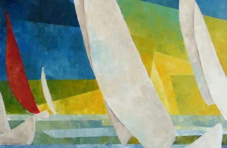 Acryl auf Leinwand, 50 x 90 cm