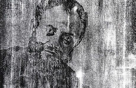 Holzschnitt-Pointillismus